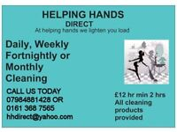 HELPING HANDS DIRECT. A+ Domestic Cleaning Company. Domestic, Deep, Oven and Office Cleaning
