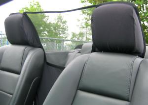 Filet coupe vent pour voiture décapotable