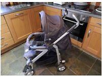 Silver cross 3D pram / stroller
