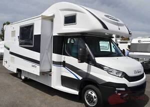 SUNLINER SWITCH 541 new motorhome - Large slideout- Diesel heater Wodonga Wodonga Area Preview