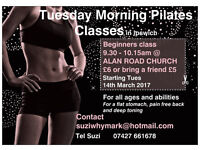 Pilates classes for all levels