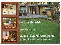 Handyman services, Fast & Reliable. Painting & Decoration, Tiling, Drywall, kitchen fitting, Garden.