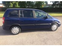 2004 VAUXHALL ZAFIRA - AUTOMATIC - DIESEL - SERVICE HISTORY - MOT TAX - EXCELLENT RUNNER