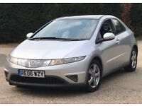 2006 Honda Civic 2,2 litre diesel 5dr 2 owners