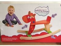 Child's Wooden Rocker Rocking Giraffe 12 Months +.