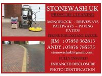 STONEWASH UK Pressure Washing for Driveways and Patios