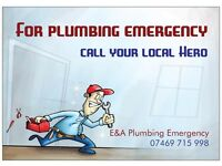 For your plumbing emergency call your local Hero!