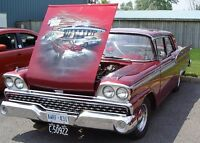 1959 Ford Fairlane 500 Galaxie 2-Door Post For Sale