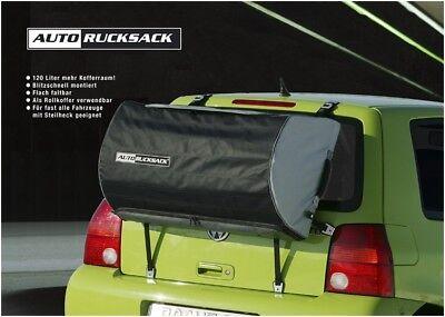 Autorucksack ARUX Alternative zur Dachbox Montage an der Heckklappe Neu! (Auto-rucksack)