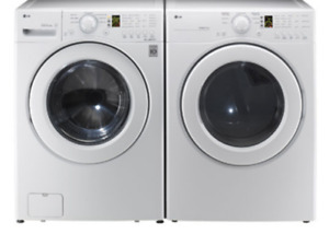 New Condition, Front Loading, High Efficiency LG Washer & Dryer