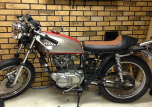 Parting out Honda cb 360t