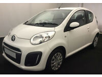 CITROEN C1 RHYTHM,EDITION,VT,FEEL,FLAIR,VTI,VTR 1.0 2013 FROM £20 PER WEEK!
