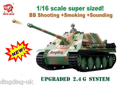 1/16 heng long remote radio control Jagdpanther Battle Tank  2.4G !!