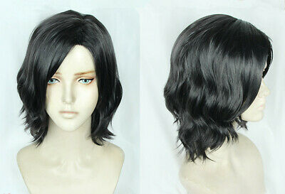 Devil May Cry 5 V Cosplay Perücke Kostüme Wig Costume Schwarz Black Neu