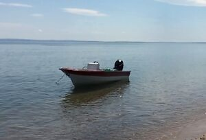16' Peterborough with 2007 30 hp Mercury outboard
