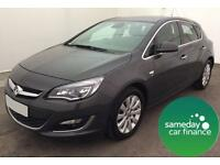 ONLY £172.89 PER MONTH GREY 2012 VAUXHALL ASTRA 2.0 CDTI ECOFLEX ELITE 5 DOOR