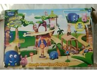 Disney Jungle Junction Playset and Characters. Unplayed with and never assembled.