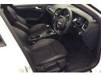 White AUDI A4 SPORTBACK 1.8 2.0 TDI Diesel BLACK EDITION FROM £72 PER WEEK!