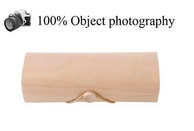 100 % Natural bamboo wood Handmade sunglasses case box strong holder