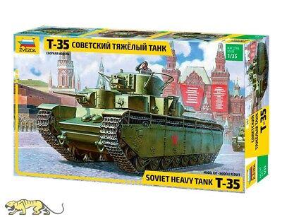Sowjetischer schwerer Panzer T-35 - 1:35 - Zvezda 3667