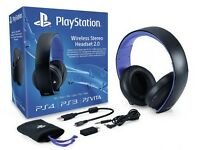 PlayStation wireless headset 2.0 BRAND NEW