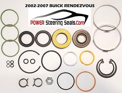 (BUICK RENDEZVOUS POWER STEERING RACK AND PINION SEAL/REPAIR KIT 2002-2007)