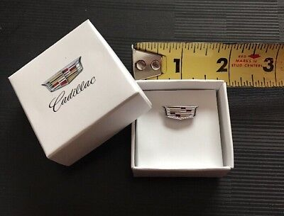 NEW Advertising Caddy Cadillac New Logo Pin Pins With Logo Gift Box