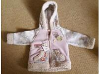 BNWT Lovely warm girl's jacket from NEXT to fit age 6-9 months