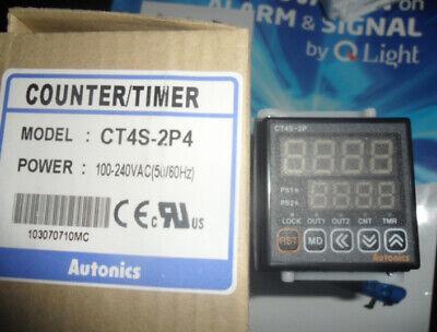 1pcs Autonics Ct4s-2p4 Ct4s2p4 Countertimer In Box -new Air