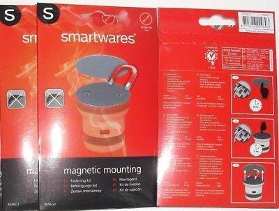 3 Magnetbefestigung Smartwares für Rauchmelder 5 cm, RMAG3