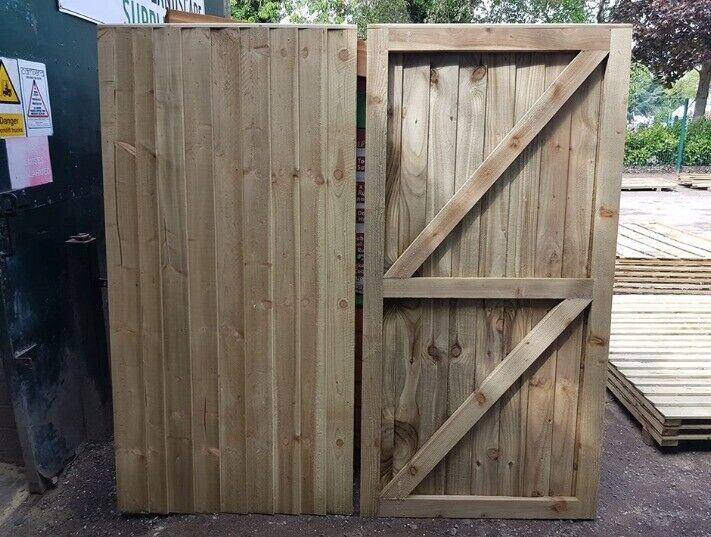 Heavy Duty Fully Framed Pressure Treated Garden Gates Made To Measure From 40 In Ardwick Manchester Gumtree