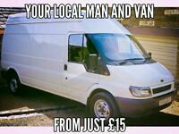 Best priced Man and Van (Large Van ) Collections and Removals