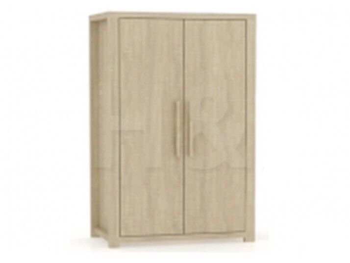 Brand New-Boxed Julia 2 Door Wardrobe in Light Sonoma