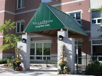 Volunteering at Villa Forum Long term Care