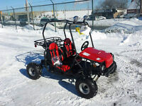NEW GO-KART IN THE BOX SALE 125cc Red & Black