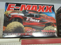 Traxxas E-Maxx Brushless Edition 4WD 1/10 Scale RC Truck Red