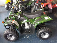 CHILD's ATV 110cc IN THE BOX SALE Assorted Colors