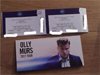 2x Olly Murs tickets O2 London