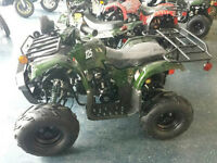 NEW CHILDS ATV TOY 125cc IN THE BOX SALE ASSORTED COLORS