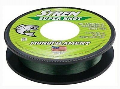 STREN SUPER KNOT 10LB 220yds LO-VIS GREEN Monofilament SSNFS10-22 1337090