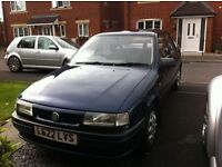 1994 VAUXHALL CAVALIER 1.8I LS BLUE, 10 MONTHS MOT, SAME OWNER LAST 16 YEARS
