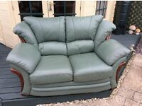 Two leather sofas, second hand, great condition. Three seater and two seater (pictured)