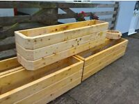 Solida Wood Large Garden Planter