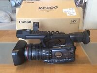 Professional Broadcast Camera Canon XF 300. As New. Low Hours.