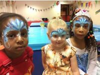Professional Face Painter for parties, fetes and weddings etc
