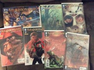 Freddy Vs Jason Vs Ash Comic Book Lot