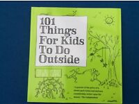 * AS NEW * 101 THINGS FOR KIDS TO DO OUTSIDE BOOK ** CHRISTMAS GIFT ** GAMES ELC ART OUTDOOR TOYS