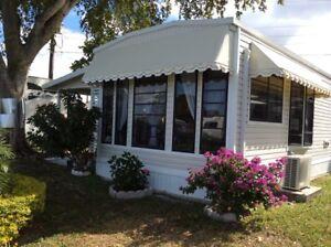 Maison mobile à vendre, Seminol Park , Hollywood, Floride