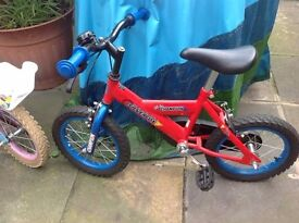 One boys one girls bike excellent condition. QUICK SALE £45 for the two.