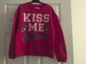 Size 8 Christmas jumper